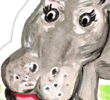 hippopotamus Sticker