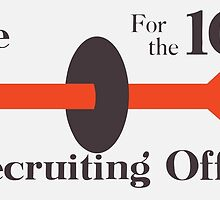 To The Recruiting Office For The 104th by warishellstore