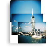 Spinnaker Tower montage Canvas Print