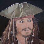 Johnny Depp as Jack. by Gary Fernandez
