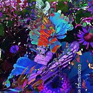 Abstract Butterfly photo collage by Kater