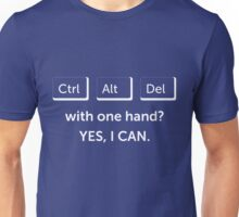 Yes, I can Unisex T-Shirt