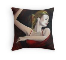 """The last dance..."" detail Throw Pillow"