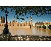 Houses of Parliament from the Southbank: London, UK Photographic Print