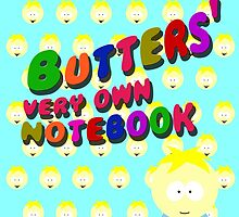 Butters very own notebook by cthulupie