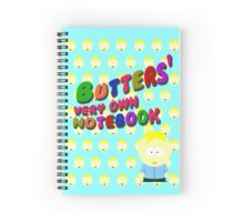 Butters very own notebook - South park Spiral Notebook