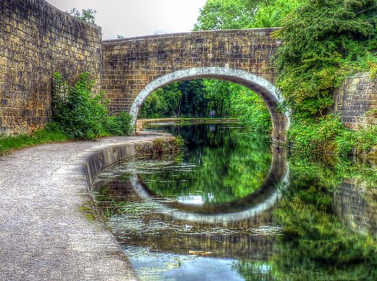 Newlay Bridge by Colin Metcalf