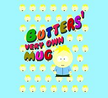 Butters very own mug by cthulupie