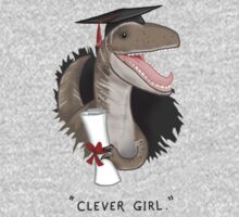 """Clever Girl"" One Piece - Long Sleeve"