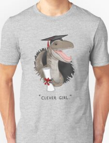 """Clever Girl"" Unisex T-Shirt"