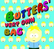 Butters very own bag by cthulupie