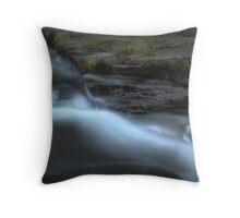 The Silk-like Stream Throw Pillow