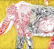 birth of the elephant by arteology