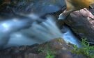 The Retreating Waterfall II by Aaron Campbell
