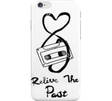 Relive the past. iPhone Case/Skin