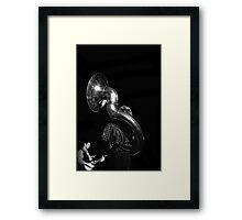 Sousaphone Framed Print