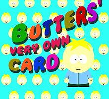 Butters very own card by cthulupie