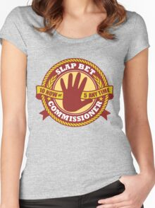 Slap Bet Commissioner Women's Fitted Scoop T-Shirt