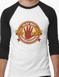 Slap Bet Commissioner Men's Baseball ¾ T-Shirt