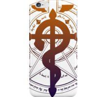 Transmutation circle iPhone Case/Skin
