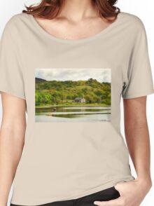 Ardchattan Kirk on Loch Etive Women's Relaxed Fit T-Shirt