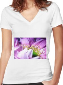Wrapped In Pink Women's Fitted V-Neck T-Shirt