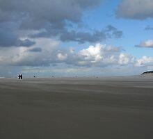 Empty Beach by Stefanie Köppler