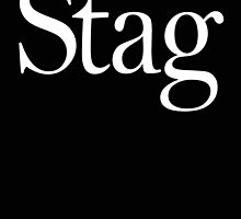 STAG, Stag night, Stag Party, Bachelor, Wedding, Wed, Marry, Married by TOM HILL - Designer