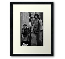 Azza and Dan Framed Print