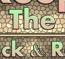 Vintage  Keep The Rock&roll Alive  Sticker