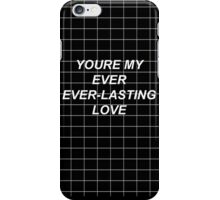 Ever-Lasting Love Lyrics iPhone Case/Skin