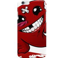 Funny Super Meat Boy iPhone Case/Skin