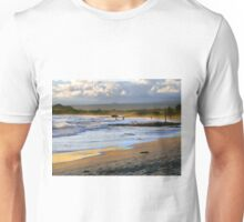 Beach Fun At Dusk On Isabela In The Galapagos Unisex T-Shirt