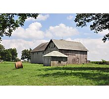 Farm - Deer Creek Township Photographic Print