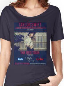taylor swift - gillette stadium Women's Relaxed Fit T-Shirt