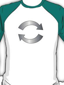 Silver Music Loop T-Shirt