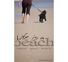 Life Is A Beach © Vicki Ferrari Photographic Print