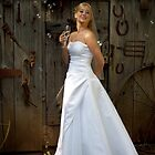 Bride with Bubbles by SheppardPhoto