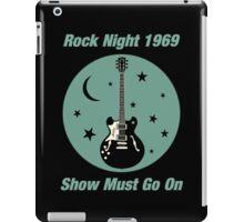Rock Night 1969 iPad Case/Skin