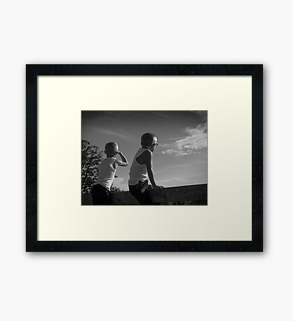 Sodapop Sky Framed Print