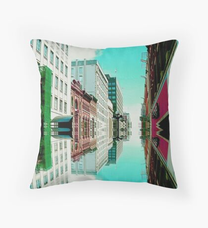 Above & Below ! Throw Pillow