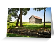 Farm - Tipton township Greeting Card