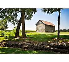 Farm - Tipton township Photographic Print