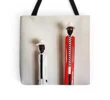 African Sculptures Tote Bag
