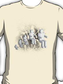 gnittis nam derauqs T-Shirt
