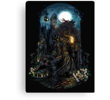 Dark Bloodborne Canvas Print