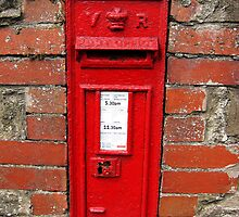 Old Victorian postbox, Usk, Wales, UK by buttonpresser