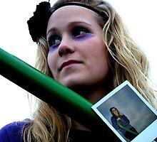 polaroid face 1 by Amberinio