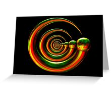Divinorum Express Greeting Card