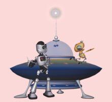 My Best Friend .. a robots tale Kids Tee